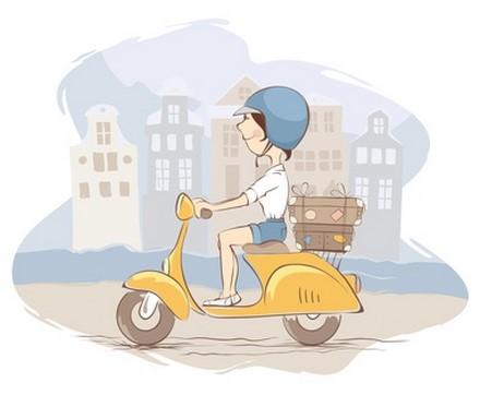 Un scooter à l'hydrogène ?