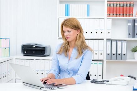 L'emploi dans l'assurance en petite forme