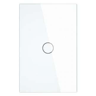 Interrupteur blanc 1 bouton
