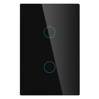 Interrupteur noir 2 bouton